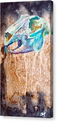 Revolution Jack Rabbit Canvas Print by Christy  Freeman