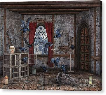 Curtain Wall Canvas Print - Revolution by Jutta Maria Pusl