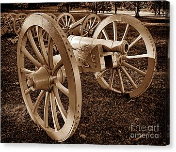 Revolutionary Cannon Canvas Print