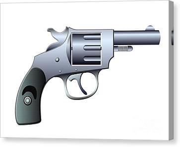 Revolver Canvas Print by Michal Boubin