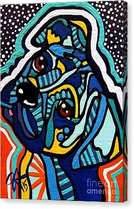 Rex Canvas Print