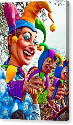 Rex Mardi Gras Parade Xi Canvas Print by Steve Harrington