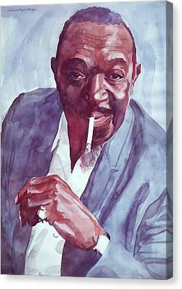 Canvas Print - Rex Stewart Jazz Cornet by David Lloyd Glover