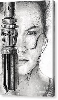 Daisy Canvas Print - Rey by James Holko