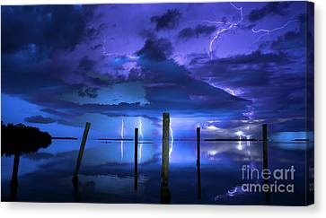 Blue Nights Canvas Print