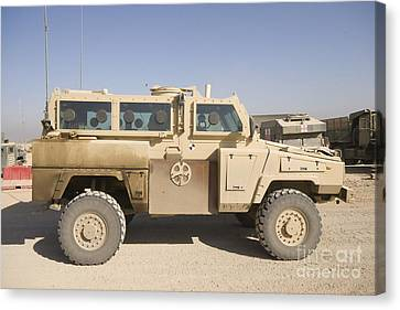 Iraq Canvas Print - Rg-31 Nyala Armored Vehicle by Terry Moore