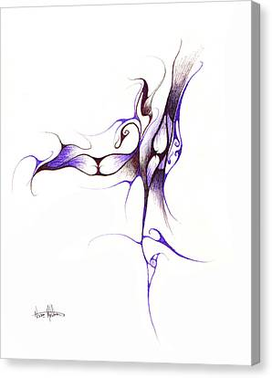 Rhapsody Of Contortion  Canvas Print by Nathaniel Hoffman