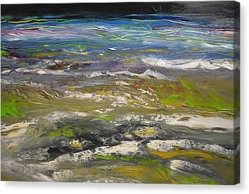 Rhapsody Of The Beach Canvas Print by Christopher Chua