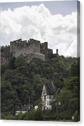 Rheinfels Castle 06 Canvas Print by Teresa Mucha