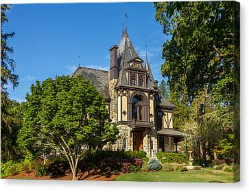 Canvas Print - Rhine House At Beringer Estates by Bill Gallagher