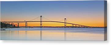 Rhode Island Newport Bridge Canvas Print by Juergen Roth
