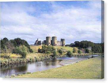 Rhuddlan Castle - Wales Canvas Print
