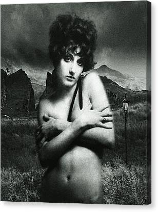 Canvas Print featuring the photograph Rhyd Ddu Madonna by Richard Wiggins