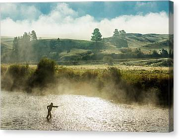 Trout Canvas Print - Rhythm And Grace by Todd Klassy