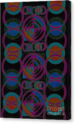 Appleton Canvas Print - Rhythm Impression by Norma Appleton