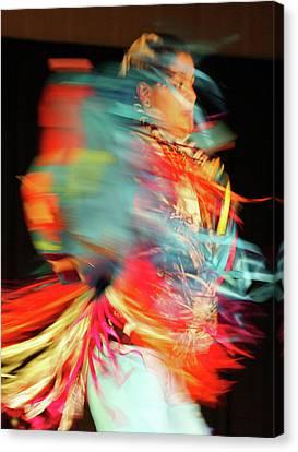 Rhythm Of Dance Canvas Print