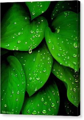 Rhythm Of The Rain Canvas Print