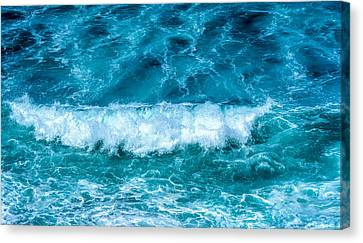 Canvas Print featuring the photograph Rhythm Of Waves by Marion McCristall