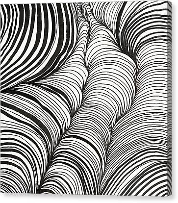 Rhythm Waves Canvas Print