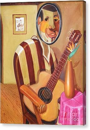 Rhythmic Echoes Canvas Print by David G Wilson