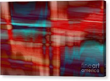 Rhythmic Stripes Canvas Print