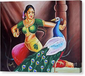Rhythms Of Tradition Canvas Print