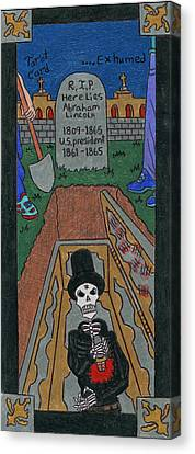 R.i. P. Exhumed Canvas Print