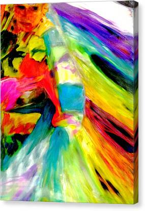 Ribbon Dancer Canvas Print