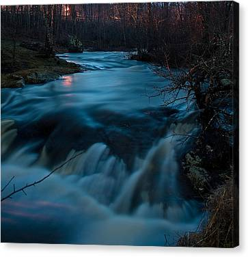 Ribbon Of Life Canvas Print by Greg DeBeck