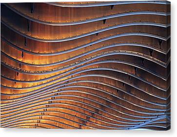 Ribbons Of Steel Canvas Print