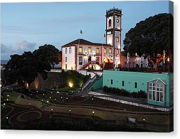 Ribeira Grande Town Hall Canvas Print by Gaspar Avila