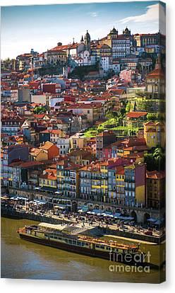 Ribeira Of Oporto Canvas Print