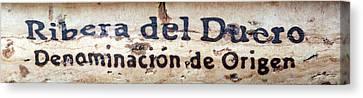 Ribera Del Duero Canvas Print by Frank Tschakert