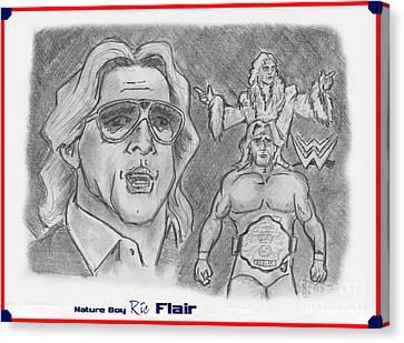 Ric Flair -the Nature Boy Canvas Print