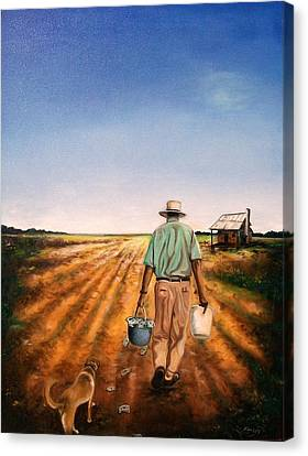 Rich Dad Poor Dad Canvas Print by Emery Franklin