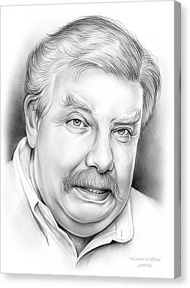 Richard Griffiths Canvas Print