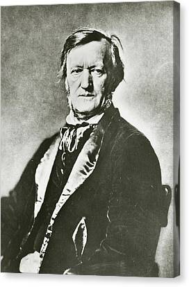 Richard Wagner Canvas Print by Unknown