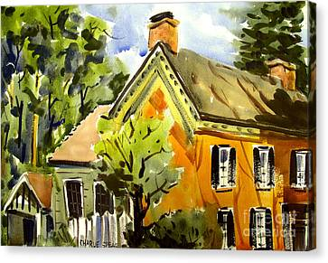 Richardville House No2 Miami Chief Framed Matted Glazed Canvas Print
