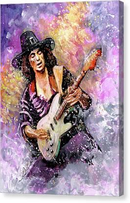 Richie Blackmore Canvas Print