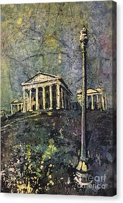 Richmond Capitol Canvas Print by Ryan Fox
