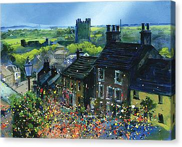 Richmond Carnival In Frenchgate Canvas Print by Neil McBride
