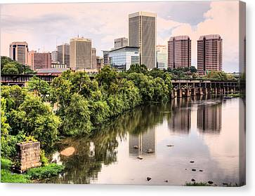 Richmond Skyline Canvas Print by JC Findley
