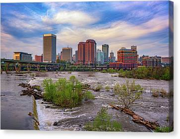 Richmond Skyline Canvas Print by Rick Berk