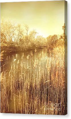 Richmond Tasmania Riverscape Canvas Print by Jorgo Photography - Wall Art Gallery
