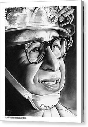 Writer Canvas Print - Rick Moranis by Greg Joens