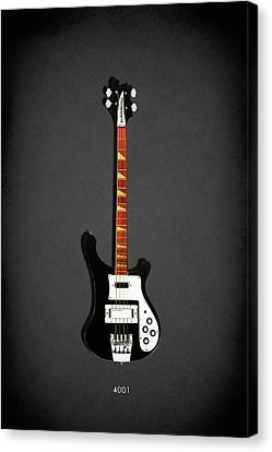 Rickenbacker 4001 1979 Canvas Print by Mark Rogan