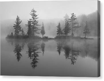 Ricker Pond Autumn Vermont Canvas Print by Binh Ly