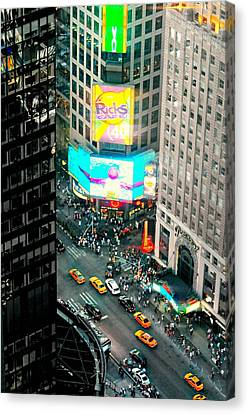 Hyatt Hotel Canvas Print - Rick's Cafe by Diana Angstadt