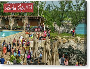 Rick's Cafe In Negril, Jamaica Canvas Print