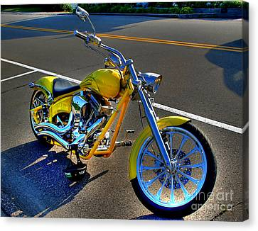 Canvas Print featuring the photograph Ride Hard... by Adrian LaRoque